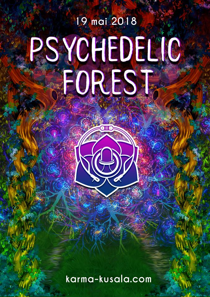 Fly Psychedelic Forest